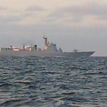 Po pratybų Baltijos jūroje kinų karo laivai plaukia į Sankt Peterburgą