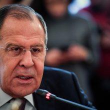 S. Lavrovas: NATO perspėjimai dėl Rusijos grėsmės neišsipildė