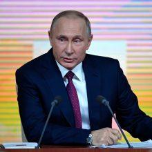 Rusijoje prasideda prezidento rinkimų kampanija
