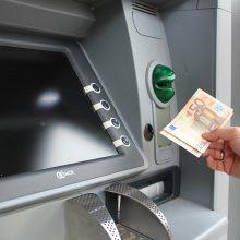 Prekybos centre iš bankomato pavogta 13 tūkst. eurų