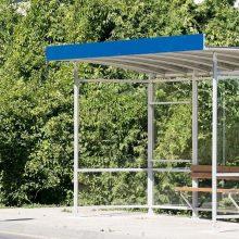 Vilniaus viešojo transporto stotelėse įrengiami nauji paviljonai