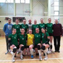 Baigėsi Baltijos moterų tinklinio lygos reguliarusis sezonas