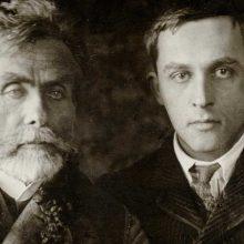 Parodoje – menininkų tėvo ir sūnaus pasauliai