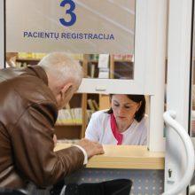 Nuo sausio 1-osios užsiregistruoti pas gydytojus bus lengviau