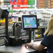 Profsąjungų vadovė: kai kurie prekybos centrai linkę rūpintis darbuotojais