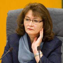 R. Baškienė: kitą savaitę galima tikėtis nenumatyto Seimo plenarinio posėdžio