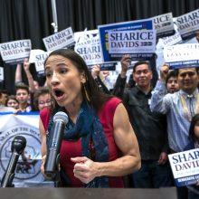 Pirmą kartą į JAV Kongresą pateko Amerikos čiabuvės