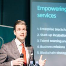 """Blockchain Centre Vilnius"" vairą perima J. Šireika"