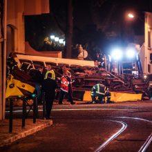 Lisabonoje tramvajui nuriedėjus nuo bėgių nukentėjo beveik 30 žmonių