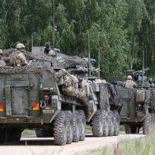 Lietuvoje baigiasi didžiosios karinės pratybos