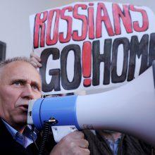 """Baltarusijos opozicionieriui už protestą prieš """"Zapad"""" skirtas areštas"""