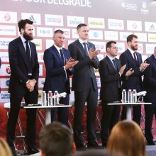 """Eurolygos finalo ketverto turnyro atidaryme – """"Žalgirį"""" gyrusios krepšinio legendos"""