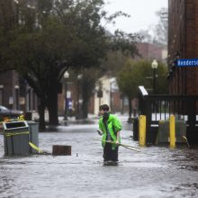 Uraganas Florence pareikalavo aukų