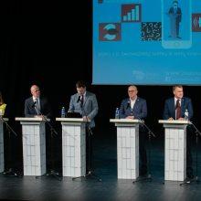 Kandidatų į Kauno miesto merus debatai