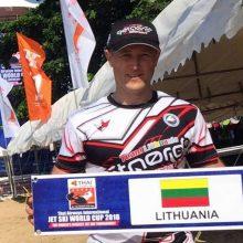 Lietuvos vandens motociklininkas startuos Pasaulio taurės varžybose Tailande