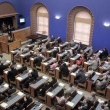 Estijos parlamentas priėmė pareiškimą Ukrainai remti