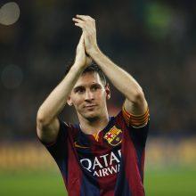 """L. Messi įvarčių šou – """"Barcelona"""" nušlavė varžovus"""