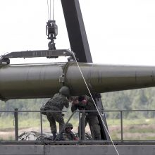 """Rusija patvirtino """"Iskander"""" raketų dislokavimą Kaliningrade"""