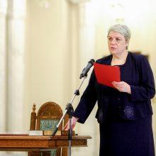 Rumunijoje suformuota 26 narių koalicinė vyriausybė
