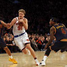 """""""Knicks"""" ieško naujos komandos M. Kuzminskui"""
