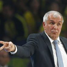 Ž. Obradovičius paskelbtas geriausiu Eurolygos treneriu, Š. Jasikevičius – trečias