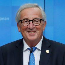 """EK pirmininkas: """"Brexit"""" pereinamasis laikotarpis veikiausiai bus pratęstas"""