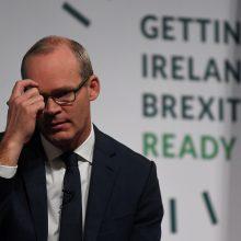 """Britanijos ir Airijos ministrai sako beveik pasiekę """"Brexit"""" susitarimą"""