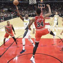 """Čikagoje – galingas D. Sabonio žaidimas ir """"Pacers"""" pergalė po pratęsimo"""