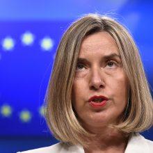 F. Mogherini: ES kuria kontaktinę grupę Venesuelos krizei spręsti