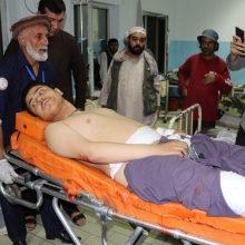 Per dvigubą išpuolį Kabule žuvo 20 žmonių ir 70 buvo sužeisti