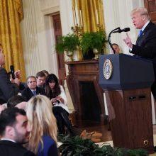 Jimas Acosta ir Donaldas Trumpas