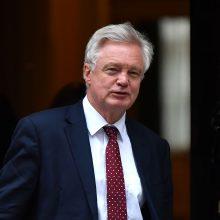 Britanija paskelbė įstatymo projektą dėl ES įstatymų viršenybės panaikinimo
