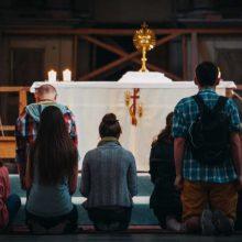 Per naktį atvira bažnyčia – laukiantiems popiežiaus Kaune