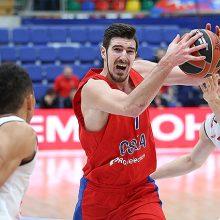 CSKA krepšininkai įveikė Bambergo komandą