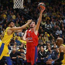 CSKA krepšininkai Eurolygoje iškovojo 19-ąją pergalę