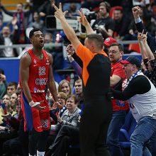 CSKA krepšininkai įveikė Eurolygos lyderius