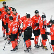 """""""Energijos"""" ledo ritulininkai pralaimėjo Baltarusijos 18-mečių rinktinei"""