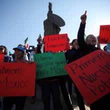 Meksika: Tichuanos gyventojai nesidžiaugia migrantų antplūdžiu