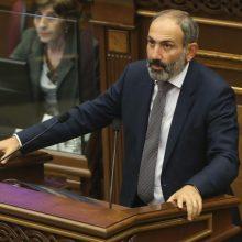 Armėnijos parlamentas patvirtino N. Pašiniano vyriausybės programą