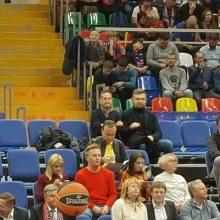 """""""Žalgirio"""" rungtynėse Maskvoje – V. Romanovas"""