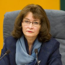 R. Baškienė apie taikinį su G. Landsbergiu: liūdna, kad tai vyksta Seime