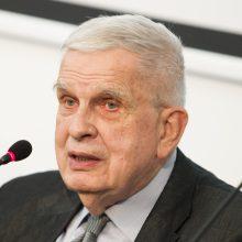T. Venclova inauguruotas VU garbės daktaru