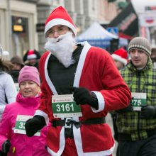 Vilniuje vyks tradicinis Kalėdų senelių bėgimas