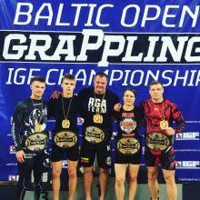 Baltijos graplingo žaidynių čempiono diržas – 42 metų klaipėdiečio rankose