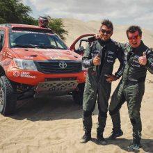 Trečiame Dakaro etape A. Juknevičius rodė stabilumą ir finišavo 25-as
