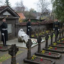 Visoje Lietuvoje pagerbtas žuvusių laisvės gynėjų atminimas