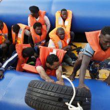 Nelegali imigracija į ES sumažėjo trečdaliu