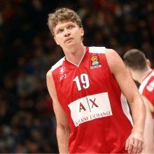 Lietuvos krepšininkai Milano komandai pelnė 18 taškų, bet ji pralaimėjo