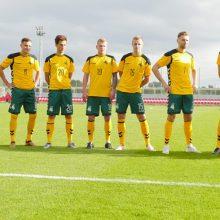 Lietuvos futbolininkai pralaimėjo iraniečiams