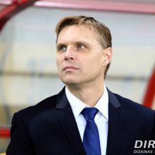 E. Jankauskas paskelbė su kuriais futbolininkais baigs Tautų lygos turnyrą